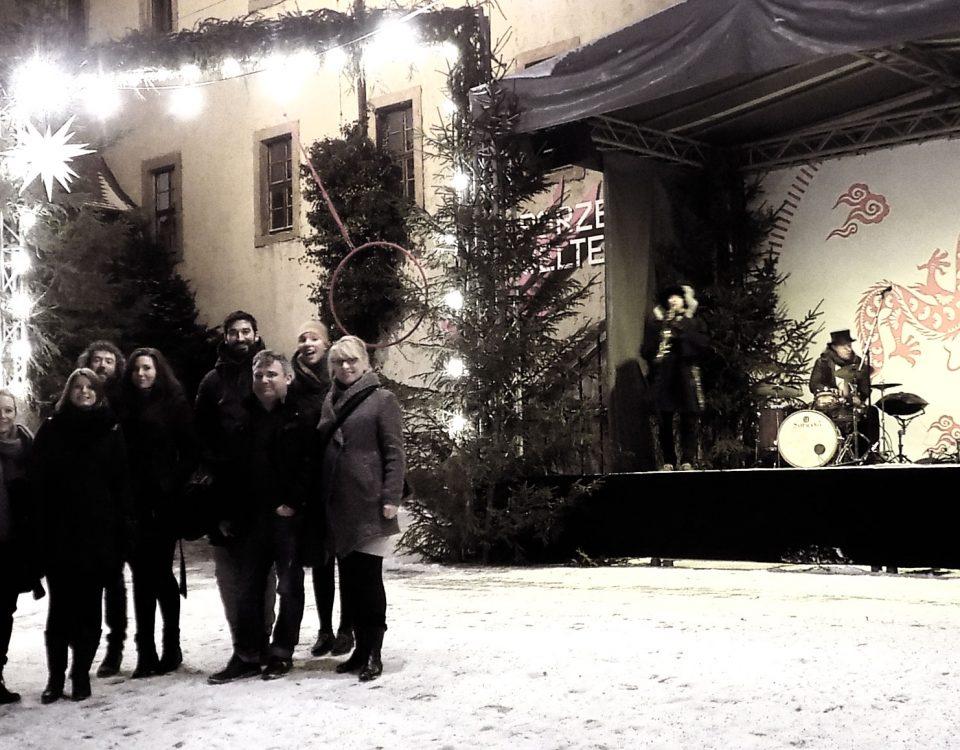 weihnachts-gruppenfoto