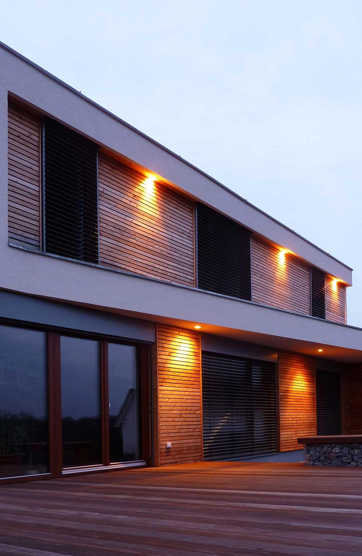 EFH S, Fassade